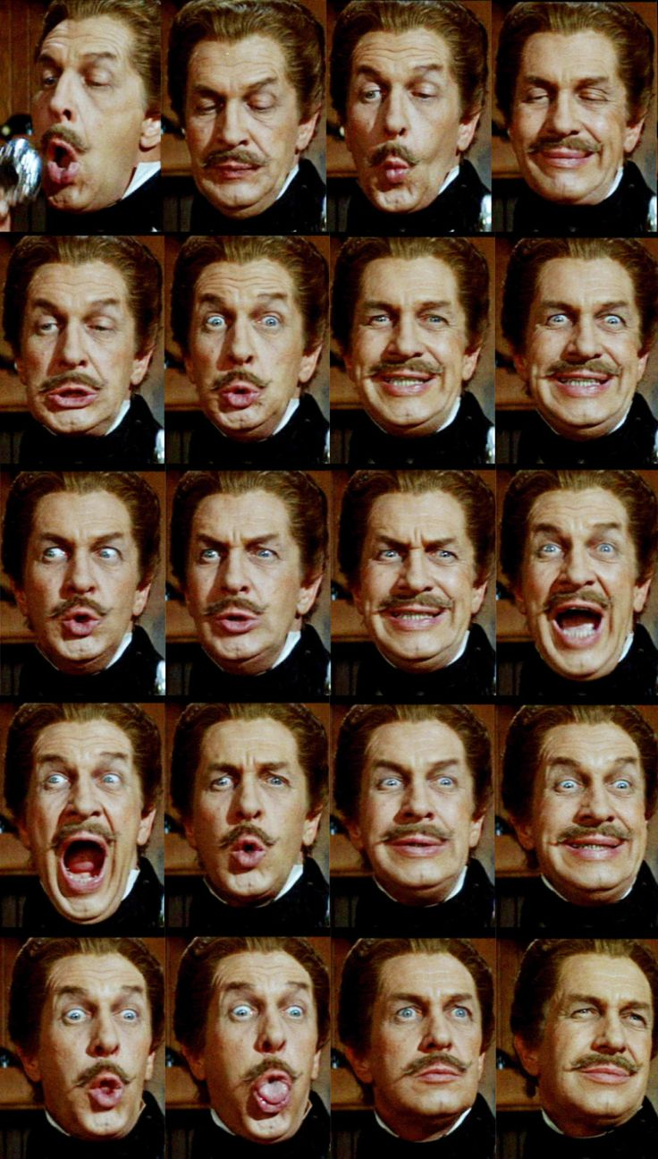 Vincent Price as Fortunato Luchresi in Roger Corman's Tales of Terror (1962).The sequence shows Luchresi's preparation forthe wine tasting duel with Montresor (Peter Lorre). Ganz großes Kino. :-)