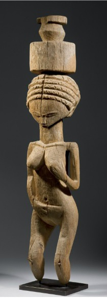 Africa | Statue from Madagascar.  | Wood | Early 20th century