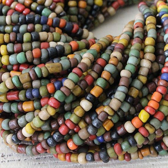 Sunshine Paper Beads Jewelry Paper Bead Necklace Wooden