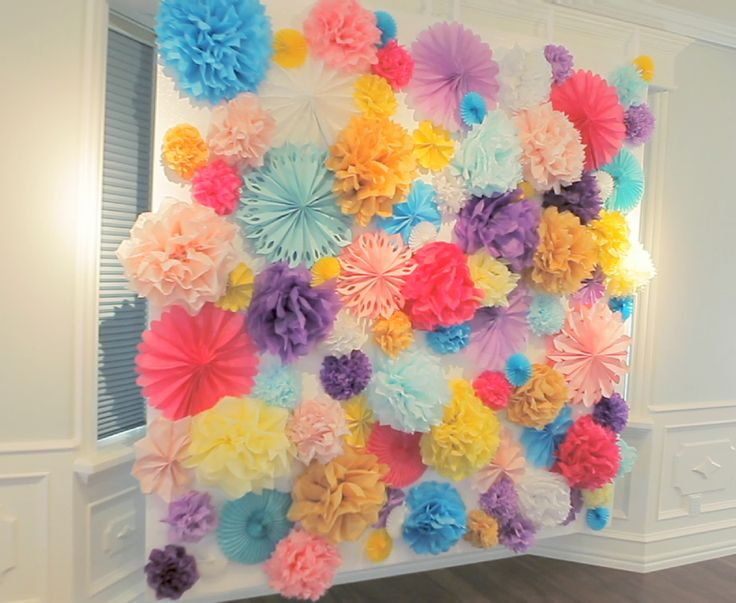 23 best images about spring home decoration ideas on for Decoration using paper