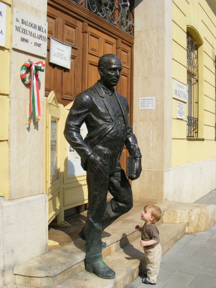 Statue in Jasz-Nagykun-Szolnok County in Hungary - photo from liveinternet.ru; possibly of scientist Dr. Bela Balogh (1890-1947)