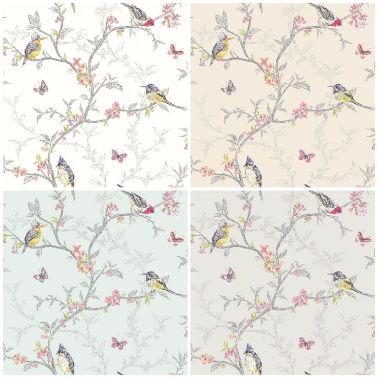 Details About Holden Decor Phoebe Wallpaper Shabby Chic