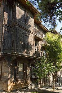 Istanbul Heybeliada Photograph - Wood Frame House by Bob Phillips