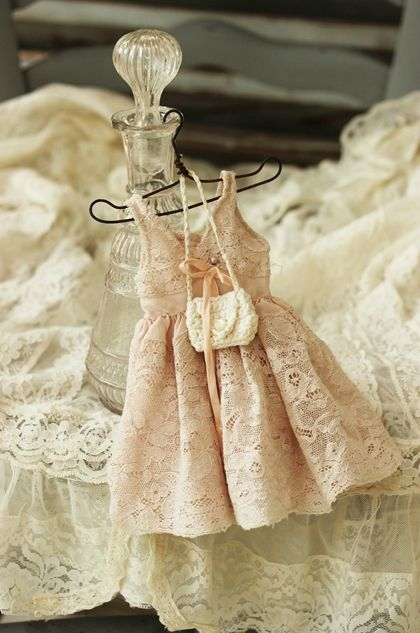 Adorable Tiny Lace Dress