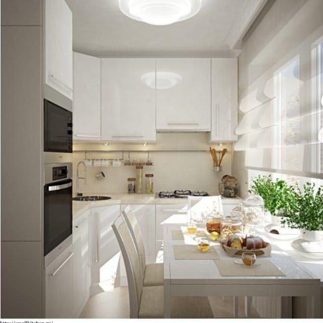 Дизайн-проект-белой-маленькой-кухни-в-стиле-модерн-634x634.jpg (634×634)