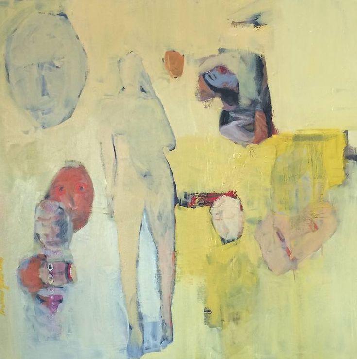 "Saatchi Art Artist Arun Prem; Painting, ""Lost in transition"" #art"
