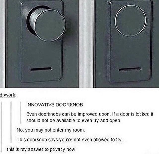 the innovative doorknob that'll solve accidental bathroom walk-ins -- the future for doorknobs