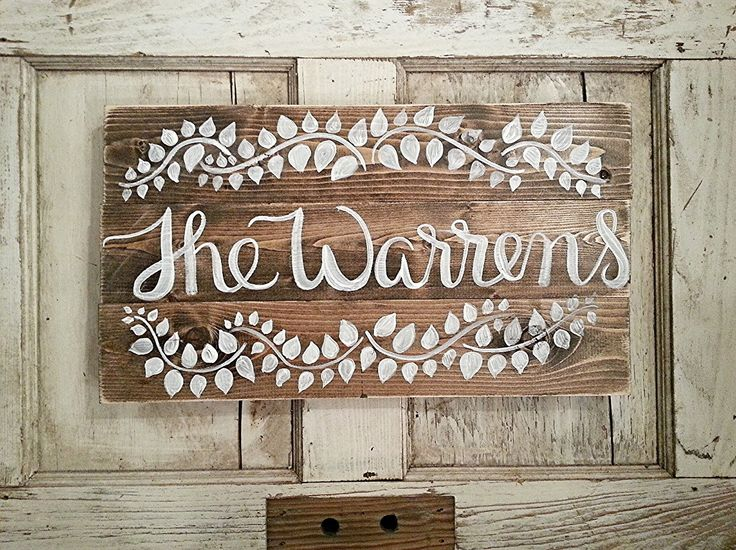 Rustic Home Decor | Last Name Sign | Custom Order by SalvagedChicMarket on Etsy https://www.etsy.com/listing/216704266/rustic-home-decor-last-name-sign-custom