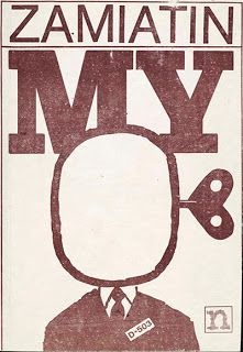 Yevgeny Zamyatin's _We,_ a dystopian novel published in English in 1921, predates and presages both _Brave New World_ and _1984._ Orwell acknowledged a debt to it, while Huxley said his own book was a reaction to H.G. Wells's utopias.