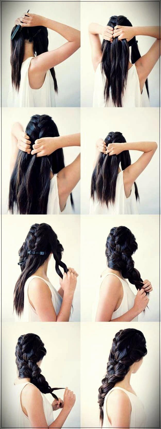 Easy Hairstyles 2019 step by step  #DIYhairstyles #easyhairstyles #howtomakehairathome