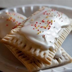 """Home Made Top Tarts   """"It's so fun and easy to make your own toaster pastries at home, and you can fill them with any flavor of jam for a sweet breakfast treat."""""""