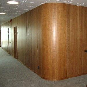 Snygg panelvägg (ev. ask)