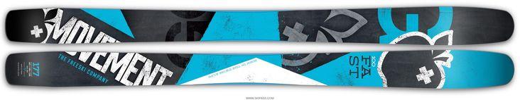 Premier ski de la série GO, le GO FAST est également le plus polyvalent. Armé de ses 100 mm au patin, le GO FAST se comporte parfaitement en hors-piste tout en conservant des propriétés intéressantes sur piste. Il présente des zones rockers en spatule et en talon favorisant le déjaugeage et le pivot du ski. Sa construction s'appuie sur un noyau bois en peuplier allégé, un complexe de fibres Dynamic triaxiales et un nouveau renfort fibre F19 lui apportant beaucoup de performance et un exce...