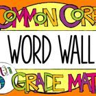 Help your 5th grade students remember key math vocabulary with this Common Core aligned word wall!   Included are 73 math vocabulary cards for your...