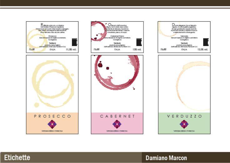 Studente Damiano Marcon (Etichette)