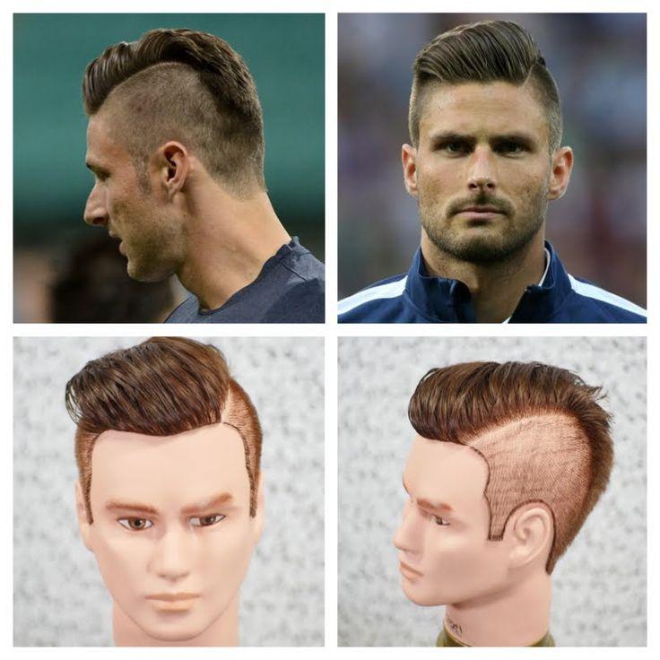 Olivier Giroud Haircut & Hairstyle Tutorial 2014