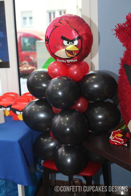 """Photo 1 of 7: Angry Birds Space / Birthday """"Angry Birds Space Party"""" 