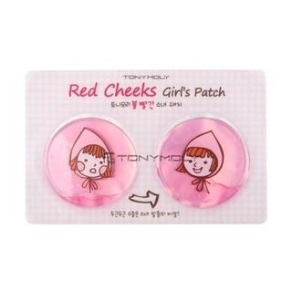 Red Cheek Girl's Patch
