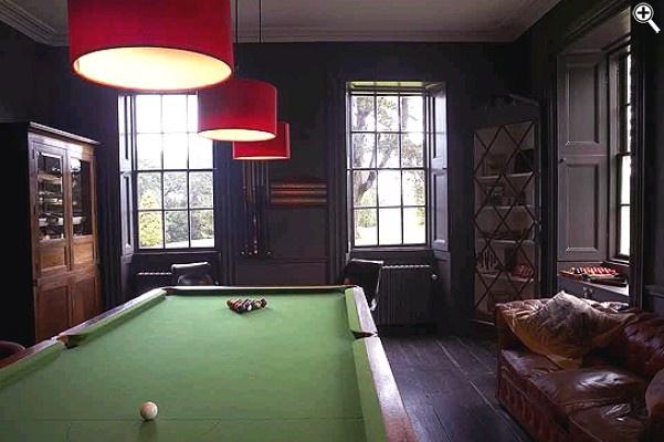 babington house billiards room