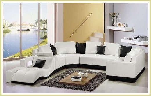 Imagenes de muebles modernos para salas peque as y lujosas for Muebles modernos para sala
