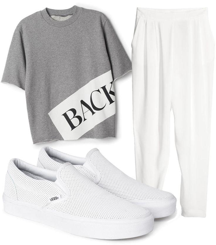 BACK + WHITE