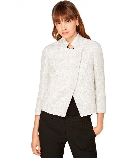 Compra Chaqueta laminada Blanco de Blazers en la tienda online oficial de United Colors of Benetton.