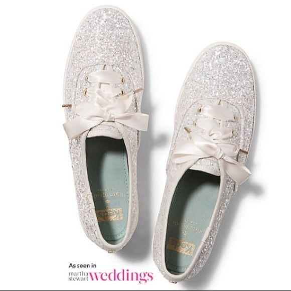 Keds X Kate Spade New York Champion Glitter Kate Spade Keds Wedding Sneakers Wedding Shoes Sneakers