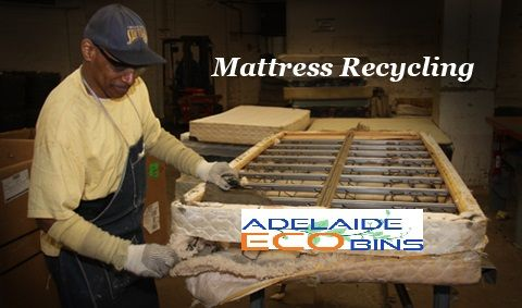 Starting to clean up waste with any waste management company? If yes then don`t waste your time.  Adelaide Eco Bins is the best recycling company. It offers all types of recycling, mattress recycling also. For more www.adelaideecobins.com.au