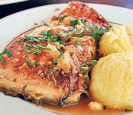 Saramură tradiţională de peşte
