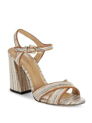 STUART WEITZMAN Sunlover High Heel Sandals. #stuartweitzman #shoes #sandals