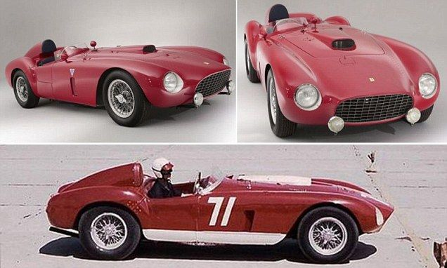 Rare Ferrari is second most expensive road car sold at British auction