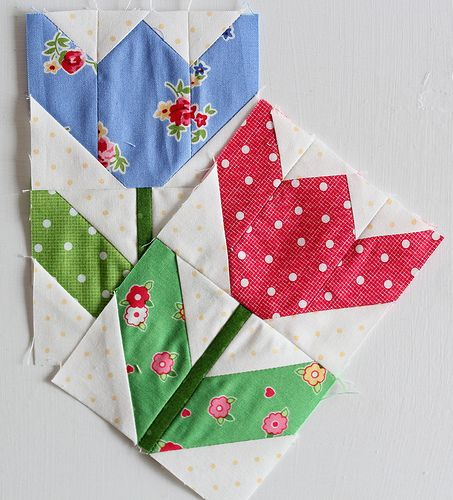 Love love love for a spring quilt