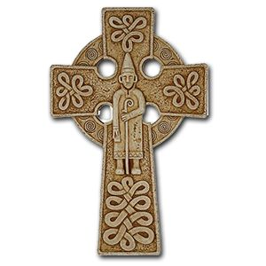 Celtic Cross of St. Patrick`  Celtic Christianity:  God revealing Himself in our fellow man and in nature.