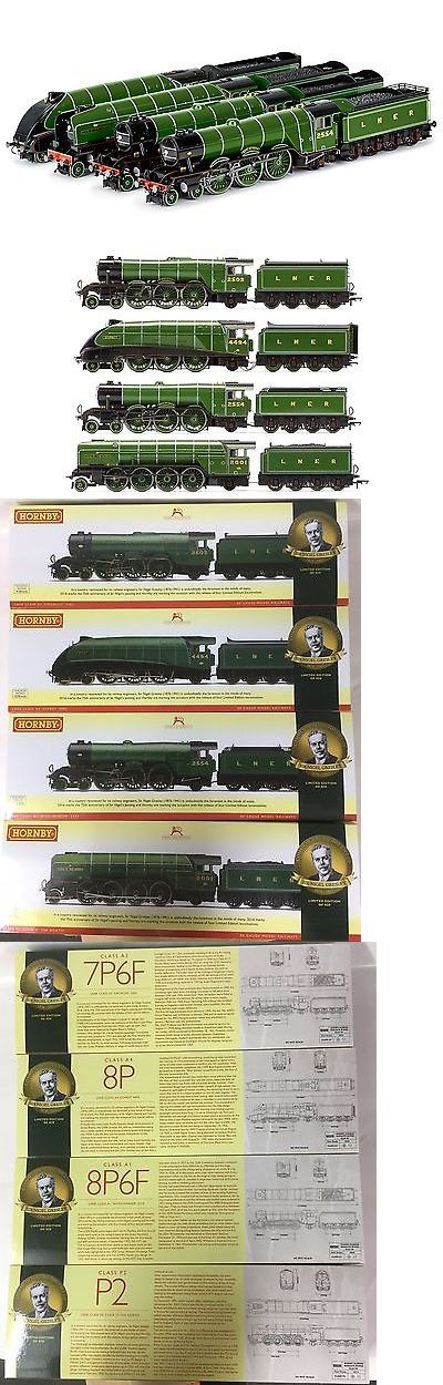 Starter Sets and Packs 112505: Hornby R3500, The Sir Nigel Gresley Collection - Limited Edition Gloss Finish -> BUY IT NOW ONLY: $550 on eBay!