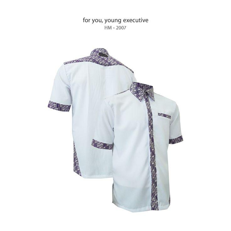 For You, Young Executive #kemejabatikmedogh http://medogh.com/baju-batik-pria/kemeja-batik-pria/Kemeja-Batik-Optimus-Series-Kemeja-Cosmos-HM-2007