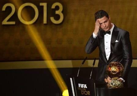 Segunda Bola de Ouro. Parabéns Ronaldo!