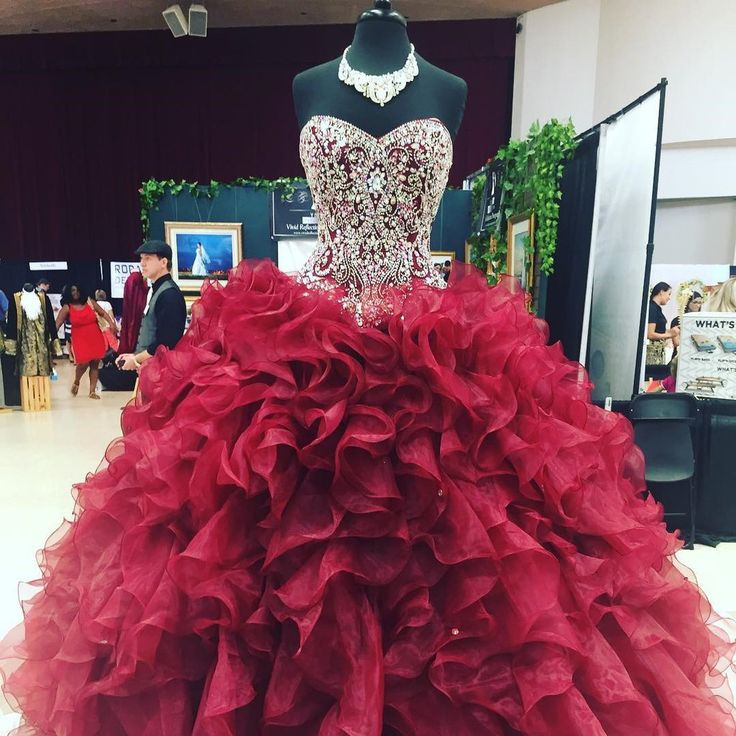 sweet 16 dress,burgundy quinceanera dresses #promdress #quinceanera #vestidosdequinceanera