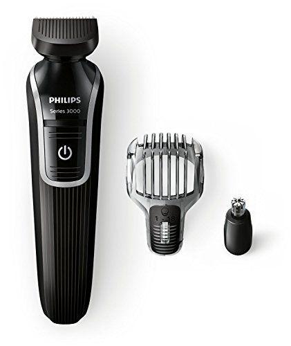 PHILIPS – QG3320/15 – Tondeuse multi-styles 3 en 1 – Fonctions barbe, moustache et oreilles, nez: 5 unité(s) de cet article soldée(s) à…