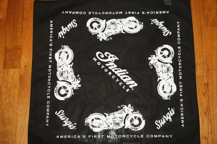 INDIAN MOTORCYCLE Bandana High Quality from Sturgis 2014 Rally **RARE**