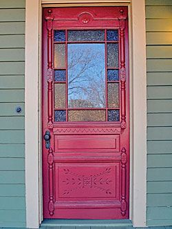 1896 Eastlake door