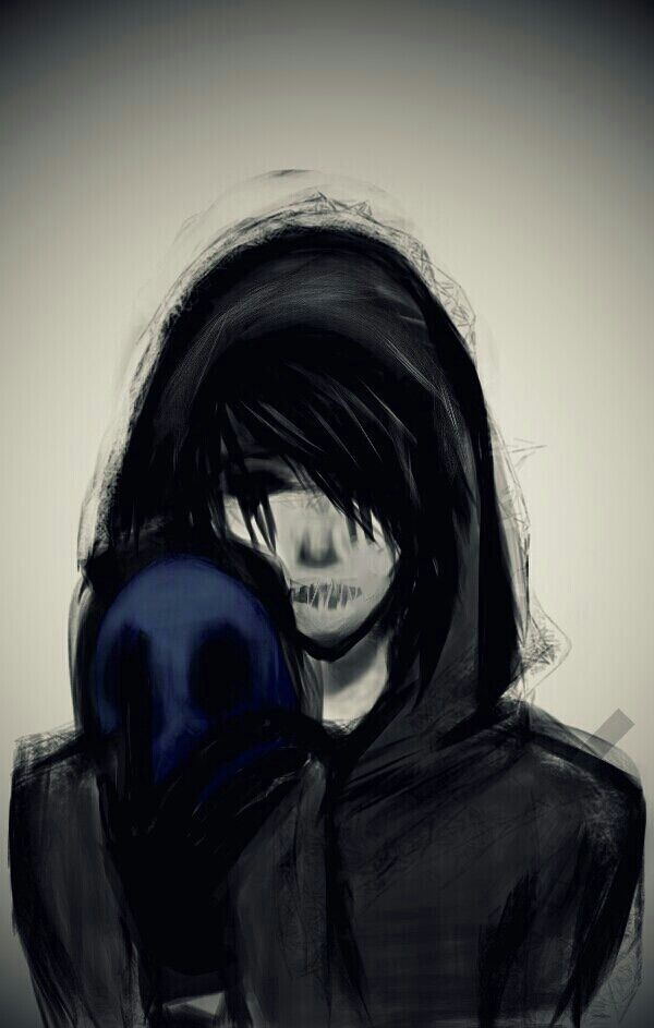 Eyeless Jack_Torment Behind the Blue Mask by Priscellia