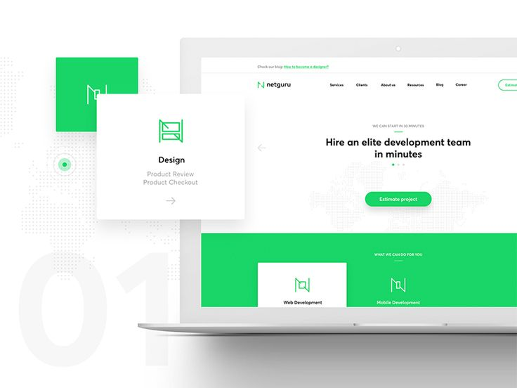 Netguru's new website with the company's new corporate identity. A joint work of Netguru and Hopa Studio. Thanks a lot guys! Like the new CI?  Check out Presentation on Behance  Get Inbbbox (Dribbb...