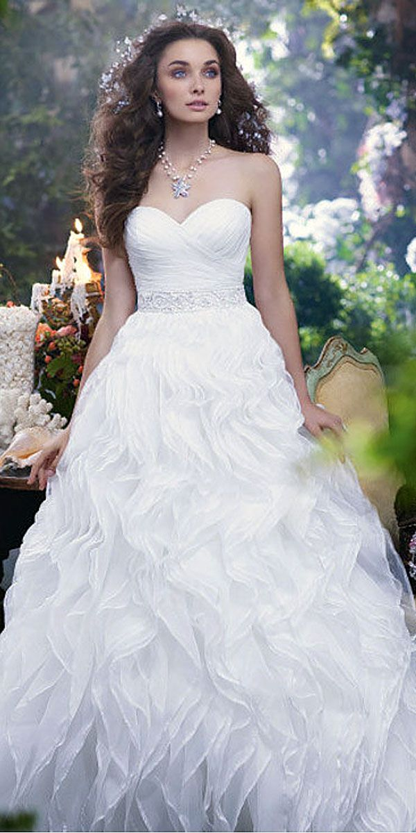 fairy tale bridal gown 1