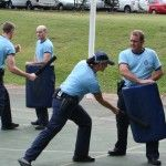 Police Recruit Training, Group 523 – Update 4: Recruit Group 523 is now approaching the half-way mark of its initial training at the police academy, having completed 14 weeks of the PROVE program.