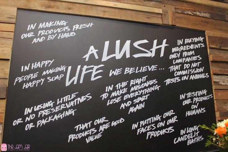 Review: Lush Store Canal Walk