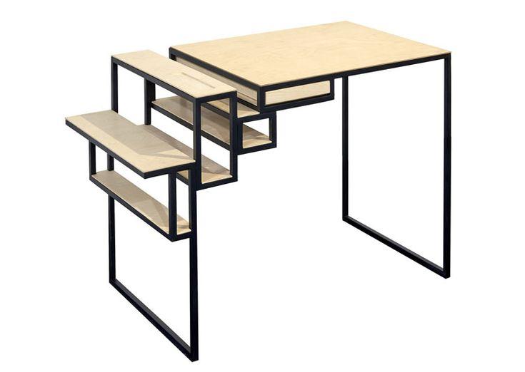 Avec le bureau design Jointed Desk, signé par le designer Filip Janssens pour la marque belge SERAX, entrez dans un univers ou le design est déstructuré et pratique.