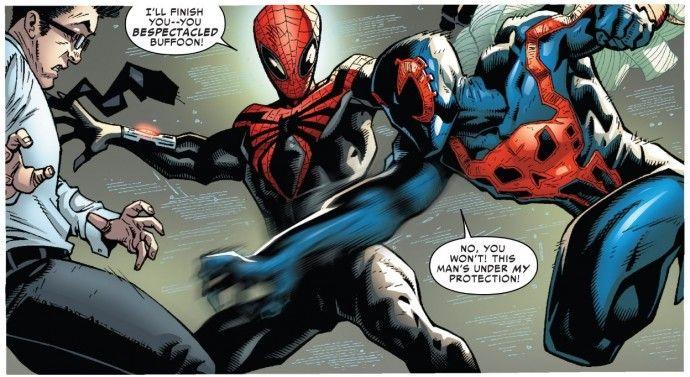 Superior Spider-Man vs. Spider-Man 2099 (from Superior ...