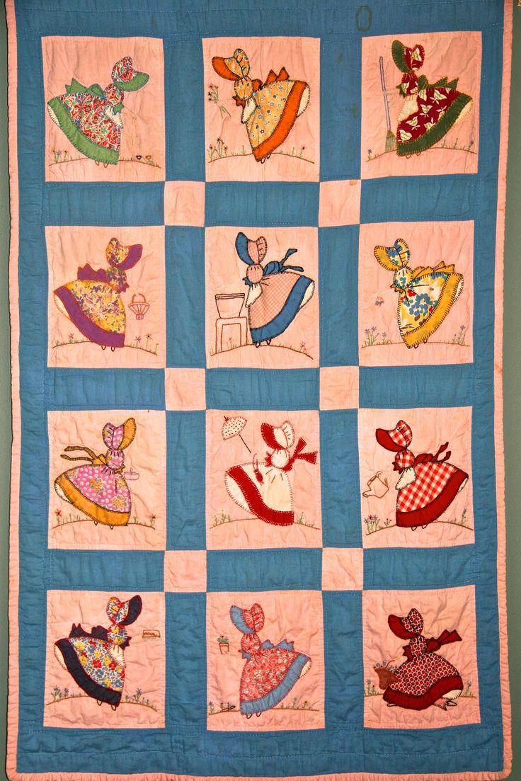sunbonnet sue|quilt patterns|vintage quilt