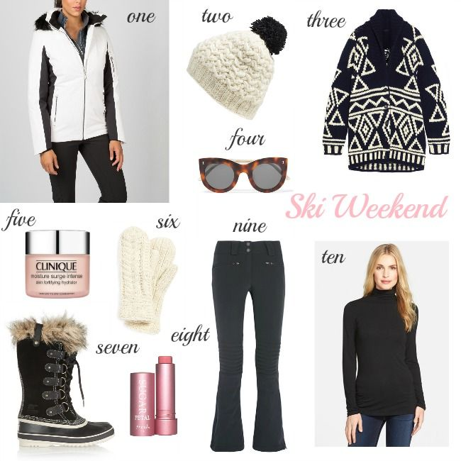 Ski Weekend - what to wear