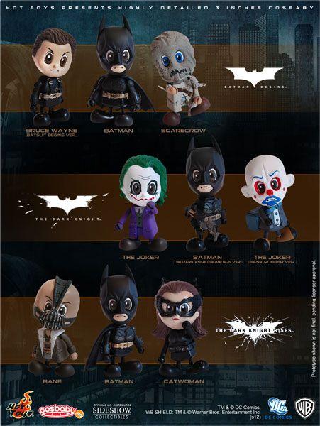Batman Christopher Nolan Cosbaby!